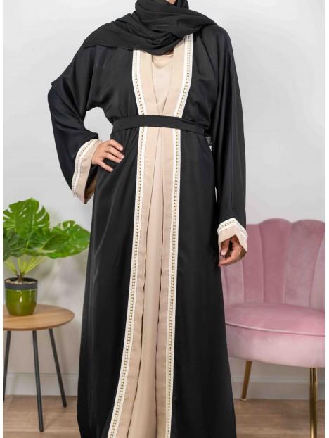 Princesse De Dubaï noire - Abaya De DubaÏ