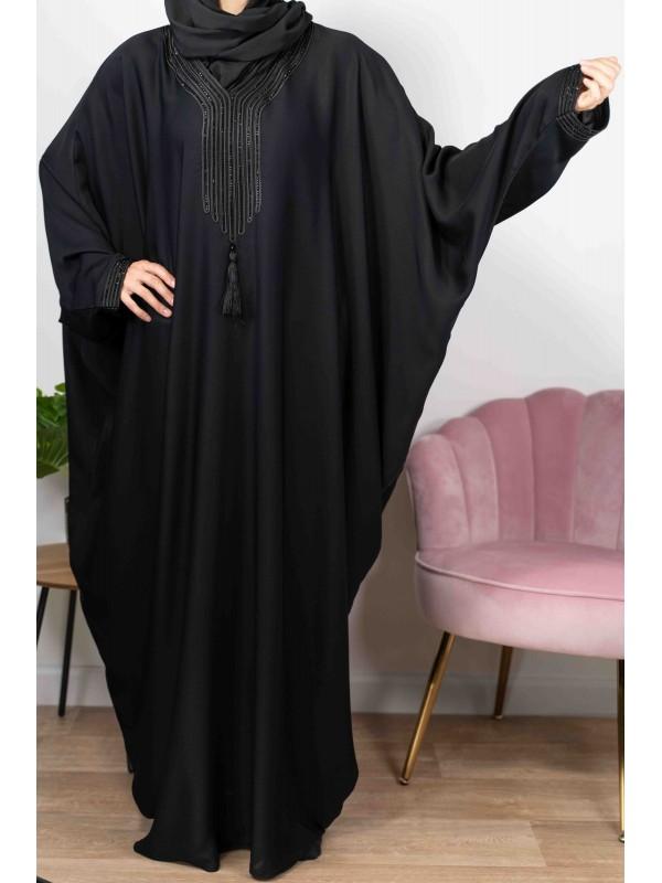 Amira de Dubaï Noire - Abaya De Dubaï